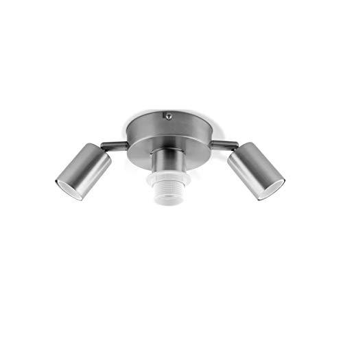 Home sweet home plafondlamp Dot 3 - mat staal