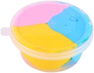 Majoxin DIY Colorful Foam Slime Putty Stress Relief Magic Slime Sludge Cotton Mud Children Adult Toy Anti-stress Toys Clay