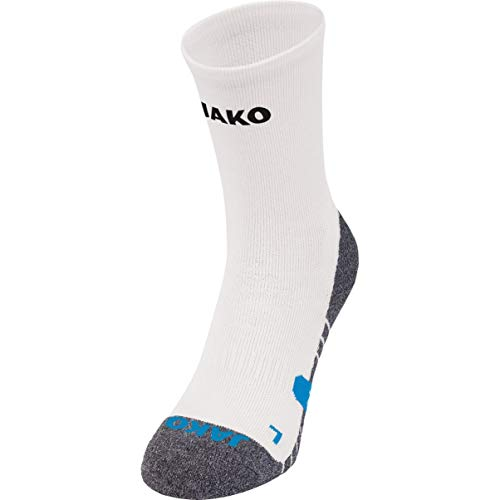 JAKO Trainingssocken Socken, weiß, 4 (39-42)
