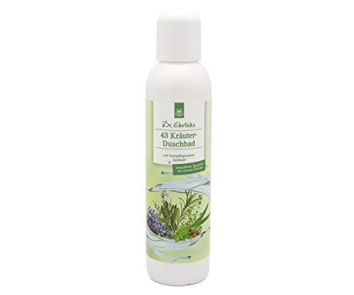43-Kräuter Duschbad - kühlendes Duschgel zur Körperpflege für reife und anspruchsvolle Haut