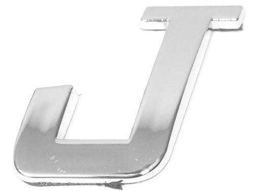 Eufab 30320 3d-letter J Car-logo