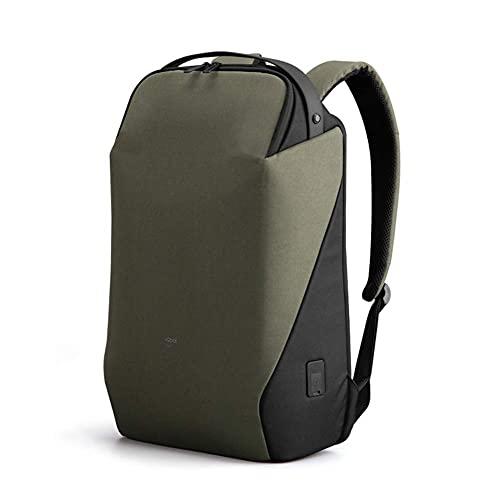 MOSHUO Reise-Business-Sterilisations-Rucksack Herren, 15,6-Zoll-Laptop-Rucksäcke mit USB-Ladeanschluss, Laptop-Daypack-Computer-Rucksack für die Geschäftsreiseschule