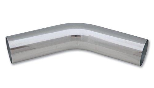 Vibrant 2890 Polished Aluminum 45 Degree Bend