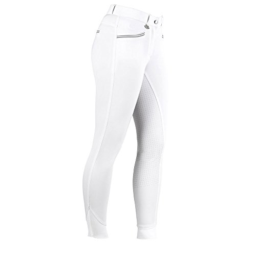 United Sportproducts Germany USG AVA Full Grip Reithose Kinder Größe: 164 Farbe: Weiss