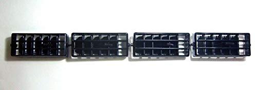 MotorStorex - Car Interior Air Vent Outlet Heater Ventilator Grille Set For 86-97 Nissan D21 Hardbody Pathfinder Pickup Truck