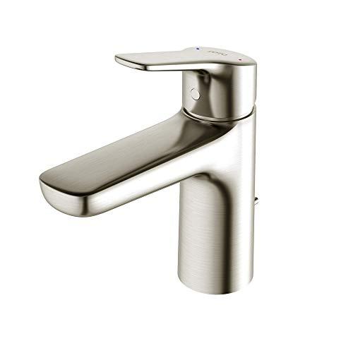 TOTO TLG03301U#PN Single Handle Bathroom Faucets, Polished Nickel