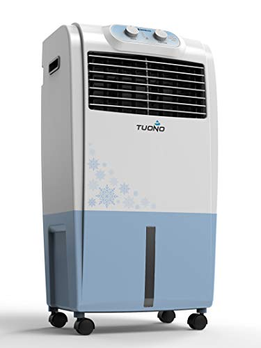 Havells Tuono Personal Air Cooler - 18 Litre (White, Light Blue)