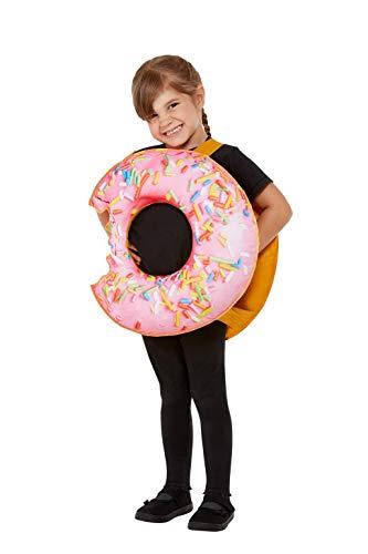 Smiffys Toddler Donut Costume Disfraz de dona para nio, color rosa, Talla nica (71090)
