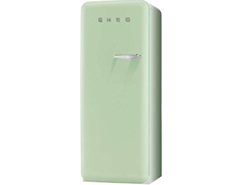 Smeg FAB28LV1 Standkühlschrank / A++ / 248 L / Grün / mit integriertem Gefrierteil / Linksanschlag