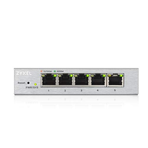 Zyxel 5-Port Gigabit Web Managed Switch, Lifetime Garantie [GS1200-5]