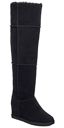 UGG Damen Classic Femme OTK Pferdeschuh, schwarz, 35 EU