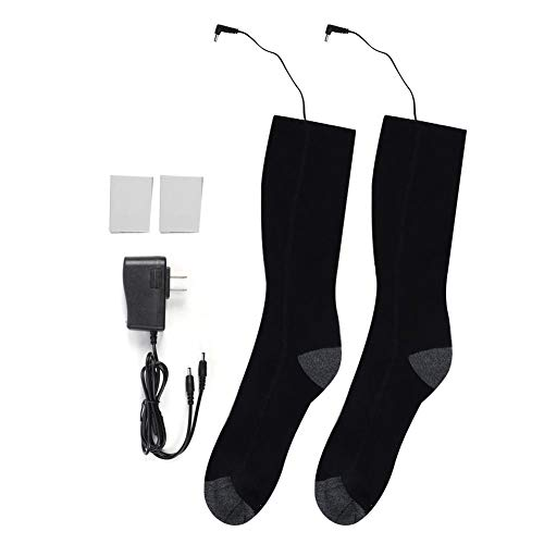 Yinhing Calcetines calefactados eléctricos, Calentadores de pies Calcetines eléctricos con batería Recargable...