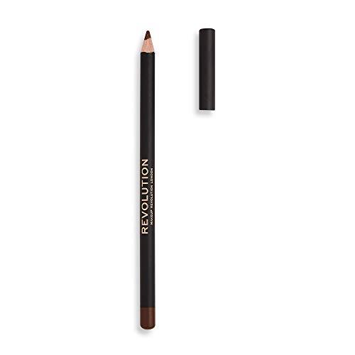MAKEUP REVOLUTION Kohl Eyeliner Brown - superpigmentierter Stift mit einer weichen und cremigen...