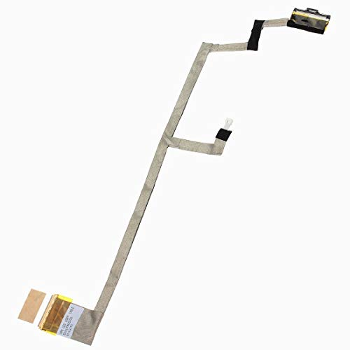 KENAN New LVDS LCD LED Flex Video Screen Cable for HP Pavilion DV6-1000 DV6-2000 Series P/N: DD0UP8LC004 DD0UP8LC006 DDC004A01D4 538312-001