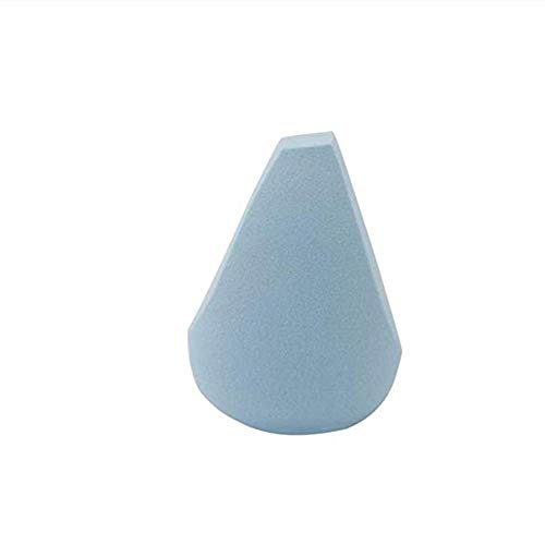 YWAWJ Mélangeur Flawless Maquillage De Mariage Éponge Cosmétique Éponge Bouffée Goutte d'eau Poudre Goutte d'eau Pratique Trois-Cut (Color : Blue)