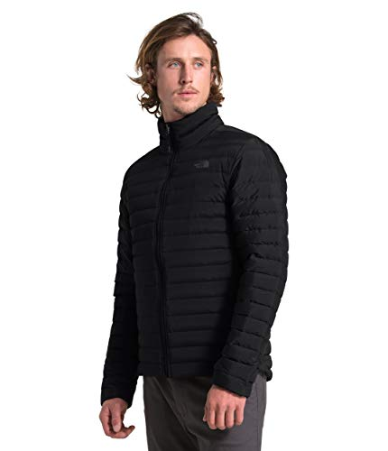 THE NORTH FACE Herren Daunenjacke Stretch Down Jacket 3Y56 TNF Black M