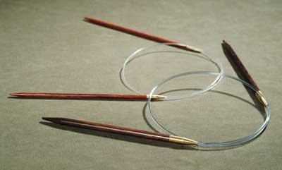 "Lantern Moon Ebony Circular Destiny Knitting Needles, Size US 11 (8.00 mm), 40"" (102 cm)"