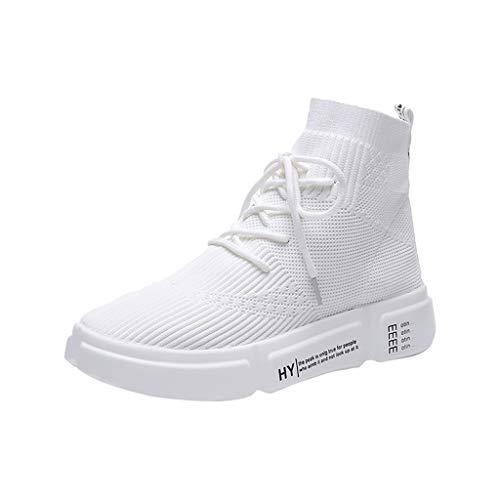 ZARLLE Verano Zapatos Planos,Correa Cruzada Cabeza Redonda Zapatos Casuales,Zapatos Deportivos Zapatos de Estudiante,Acampada y Senderismo