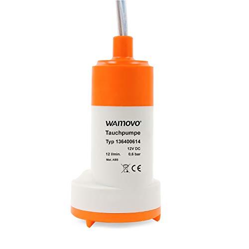 Tauchpumpe 12v 0,6 bar 12 Ltr pro Minute 18-24 Watt Pumpe für Trinkwasser