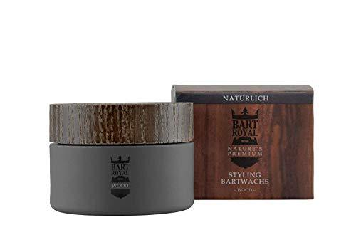 Bartpracht Bart Royal Natures Premium Bartwachs Wood, 50 ml