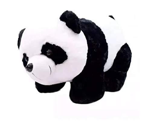 Urso Panda Pelúcia Em Quatro Patas 25cm