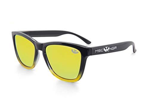 Gafas de sol MOSCA NEGRA ® modelo ALPHA SPLASH Yellow - Polarized