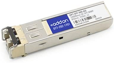 Add-onputer Peripherals, L OPT-SFP-300-AO This Raptor Networks SFP Transceiver Provides 1000Base-SX
