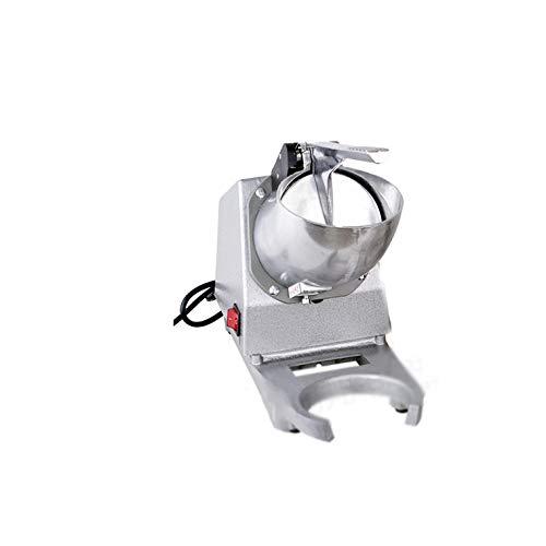 CXD Elektrischer Eiswürfelmaschine Edelstahl, Selbstreinigungsfunktion Eiswürfelbereiter Leise Ice Maker Ohne Wasseranschluss Eiscrasher Icecrusher,1
