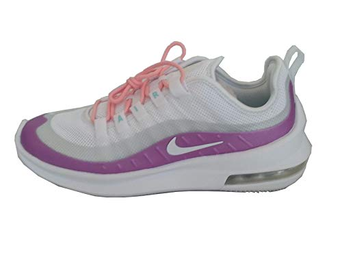 Nike Wmns Air Max Axis, Zapatillas De Running Mujer, Blanco (White/White/Hyper Violet/Bleached...