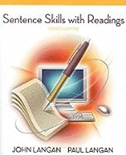 Sentence Skills With Readings, 4th edition.[Paperback,2009]