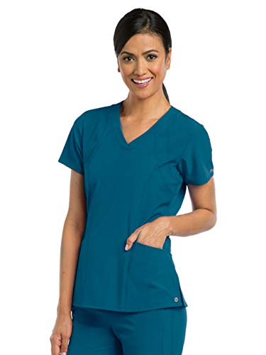 BARCO One 5105 Women's V-Neck Top Bahama M