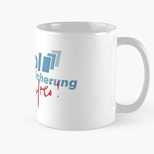 Shoprkcb Capitol Versicherung Stromberg Sorgenfrei Best 11 oz Kaffeebecher - Nespresso Tassen Kaffee Motive