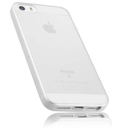 mumbi Hülle kompatibel mit iPhone SE (2016) / 5 / 5S Handy Case Handyhülle transparent
