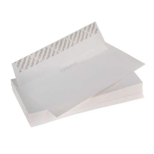 50 xConqueror DL-Briefumschläge, Diamantweiß, CX22 (ohne Fenster)