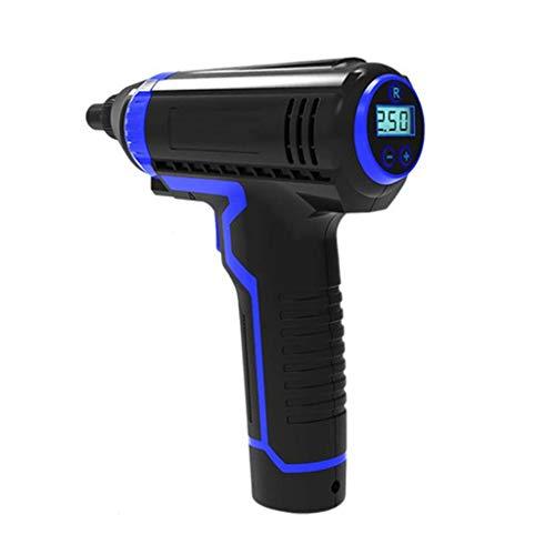 NXYJD 12V 150PSI USB Cableable COMPRESOR DE Aire Portátil LCD Handheld Bomba Inflable para Bicicletas De Automóviles Neumáticos Bolas De Natación Anillos