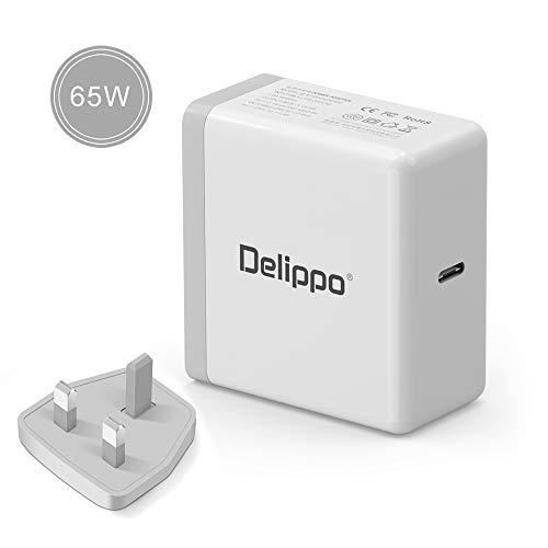 Delippo - Cargador USB C para Macbook Pro, Nintendo Switch, iPhone X/8/8 Plus, Pixel C, Moto Z, Huawei Mate 10, Mate Book, Samsung Notebook y más