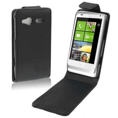 ZAORUN Cubiertas Protectoras de Cellphone Funda de Cuero Compatible for HTC C110e Radar