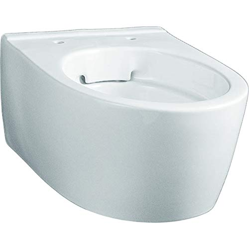 Keramag Wand-Tiefspül-WC iCon xs ohne Spülrand/Rimfree, weiss KeraTect, 204070600