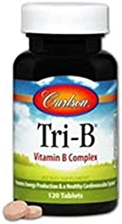 Carlson Labs Tri-B Tablets, 120 Count