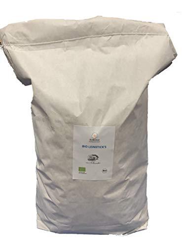 Leinkuchen Bio Leinstick's 10kg ideal zur Ergänzung für Pferde oder als Leckerli
