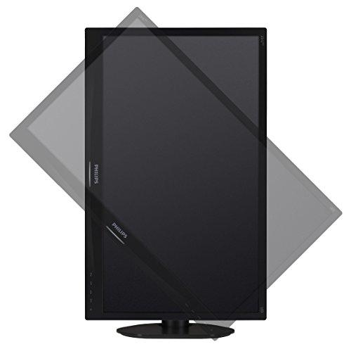 Philips 231S4QCB/00 58,4 cm (23 Zoll) Monitor (VGA, DVI, 1920 x 1080, 60 Hz, Pivot) schwarz
