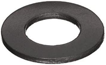 18-8 Stainless Steel Flat Washer, Black Oxide Finish, 5/16