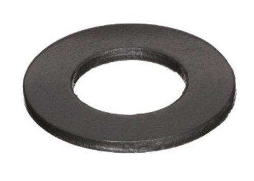 Steel Flat Washer, Black Oxide Finish, ASME B18.22.1, 1