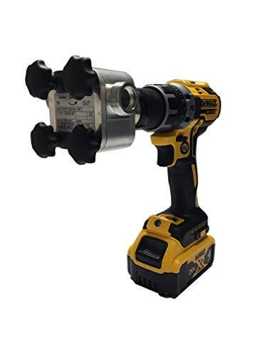"ZuwaUSA Heavy Duty ¾"" 16GPM Drill Powered Pump – Marine Grade Aluminum | Unistar-2001B (Drill Not Included)"