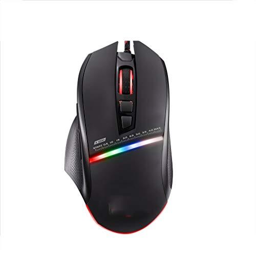 Cxp Boutiques Wired Gaming Mouse V10 Laptop Profesional Esports Oficina de Negocios Oficina periférica integrada Inicio