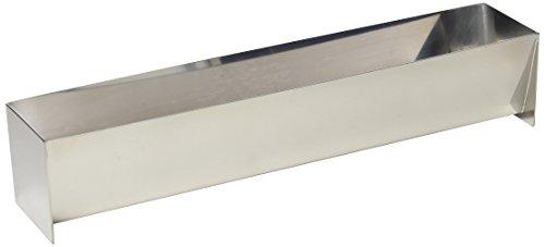 Städter Backform, Edelstahl, Silber, 30 x 6 x 6 cm