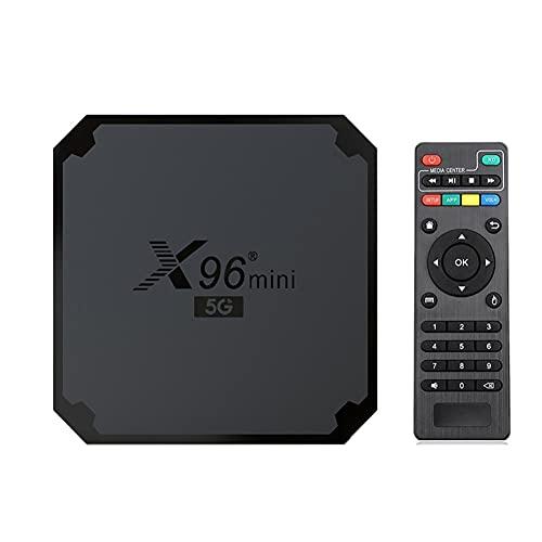 TENKY X96 Mini Caja de TV Android 9.0, 5G + 2.4G Caja IPTV...