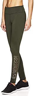 Reebok Women's Legging Full Length Performance Compression Pants - Pop Nouveau Dufflebag Small [並行輸入品]