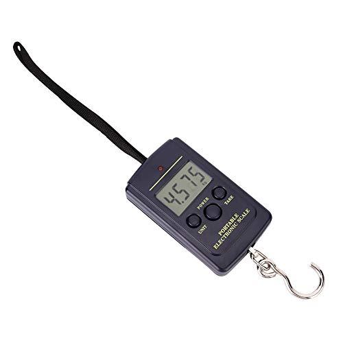 電子はかり 携帯式デジタル スケール 最大40kgまで量れる 風袋引き機能 LEDディスプレイ ラゲッジチェッカー 小型軽量 ABS トラベル/アウトドア/つりホームに最適
