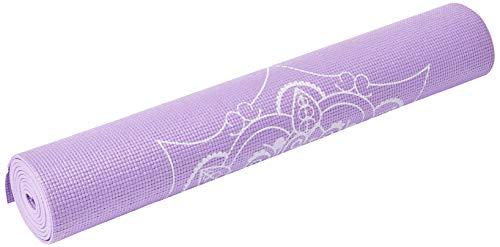Tapete de Yoga Premium com Estampa de Mandala Roxo Atrio - ES219